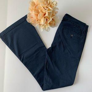 American Eagle Navy Boho Artist Flare Pants
